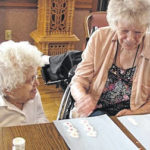 Morrow Manor enjoys Selover Library's visits
