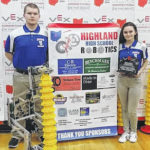 Highland siblings return to robotics championship