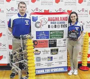 Andy Cooley and Sarah Cooley are returning to Louisville, for the VEX Robotics World Championships.