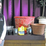 Retired teachers group learns about container gardening