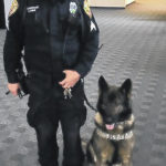 K9 officers undergo training
