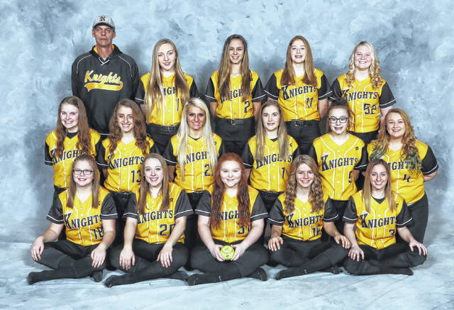 Northmor's softball team is pictured above.