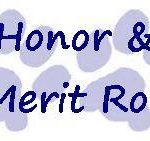 HIGHLAND HIGH SCHOOL HONOR, MERIT ROLLS