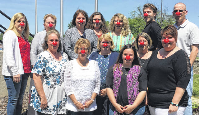 The employees of Morrow County Job and Family Services recognized Red Nose Day on May 24. Red Nose Day is a national campaign to raise money and awareness to end child poverty in the United States and abroad.