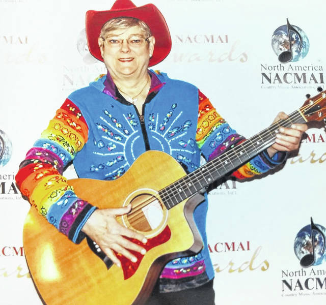 Bec Silveous, also known as Rebecca Kiernan, named by NACMAI as Entertainer of the Year.