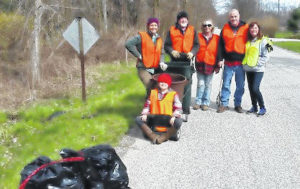 Volunteers remove 5.69 tons of litter from roads