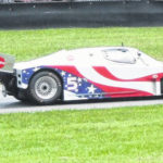 Vintage cars run at Mid-Ohio