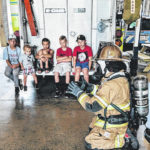 Center Moms and Kids program visits MGFD