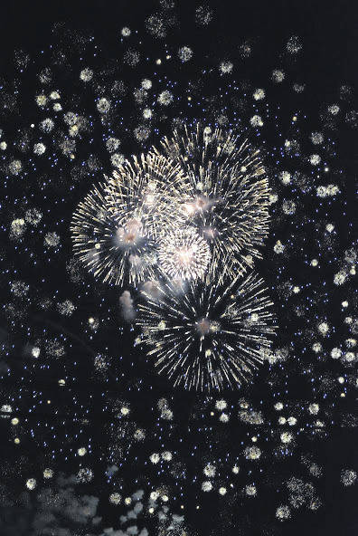 Photo courtesy Jeff Hoffer Safety experts warn families to not use, store or purchases fireworks. They say the best way to enjoy is at public events where the fireworks are being handled by licensed professionals. These photo were from this week's fireworks display in Ontario.