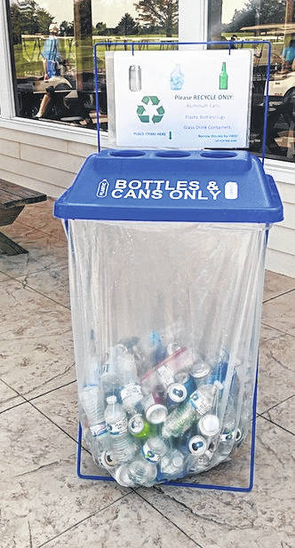 Bins will be placed throughout the Sweet Corn Festival grounds July 20-21.
