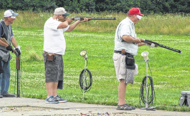There was a lot of activity at Cardinal Center from June 18-24 when the Morrow County trapshooting facility hosted the Ohio State Shoot.