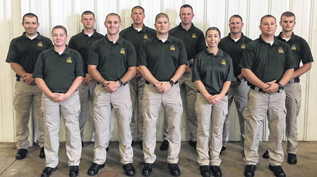 Courtesy photo The Ohio Department of Natural Resources (ODNR) announced that the ODNR Division of Wildlife recently hired 11 cadets to become state wildlife officers. These cadets will graduate in March 2019.