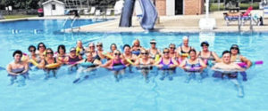 Water fitness classes offered