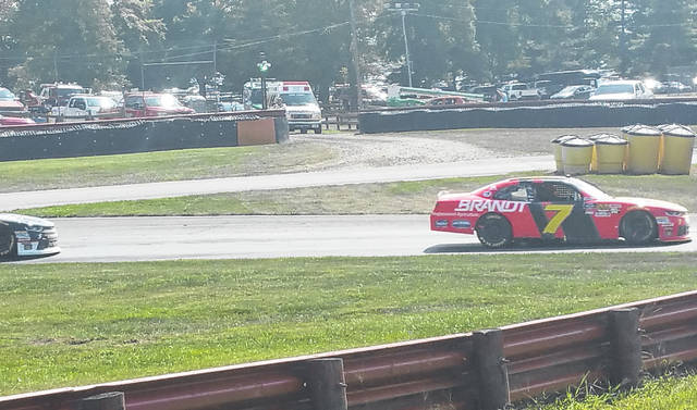 Justin Allgaier claimed the checkered flag on Saturday at the Xfinity series race hosted by Mid-Ohio Sports Car Course.
