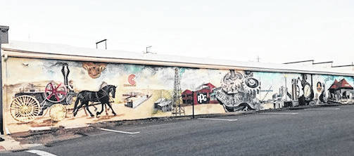 Mount Vernon Industry Mural to be dedicated Tuesday, Sept. 4, at 5 p.m.