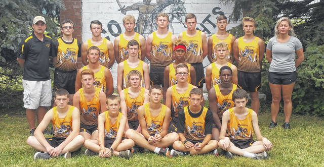 Northmor's boys' cross country team is in the above picture.