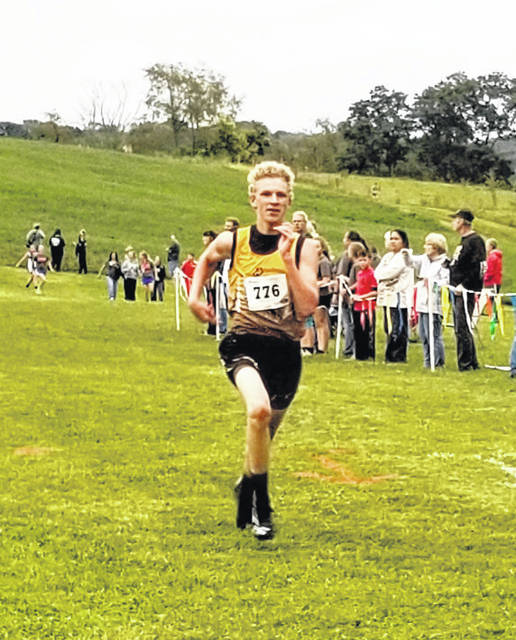 Gavvin Keen paced the Northmor boys by finishing third at the Lucas Invitational Tuesday.